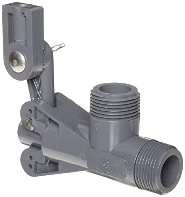"Kerick Valve PS100SS PVC Float Valve, Standard Mount, 60 gpm at 60 psi, 1"" NPT Male from Kerick Valve"