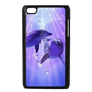 Dolphin iPod Touch 4 Case Black 218y-669736