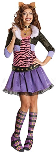 Deluxe Clawdeen Wolf Adult Costume -