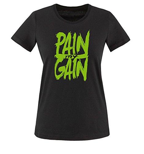 xxl shirt Verde Comedy Maglietta My Taglia Donna Nero Shirts T Pain Gain Xs qwAwYvxpS