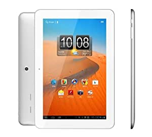 """UPGRADED Arch™ 10.1"""" Android Tablet IPS 10-Point Multi-Touch HD Screen 1280x800, Aluminium Housing, Slim Design, DUAL CORE 1.5 GHZ Cortex A9, QUAD CORE Graphics GPU, New Google Android Jelly Bean 4.1.1 OS 1GB RAM 16 GB Internal Memory ROM, Dual Front and Rear Cameras, HMDI Compatible Skype Video Calling, Netflix, Ereader, External 3G Supported (Silver)"""