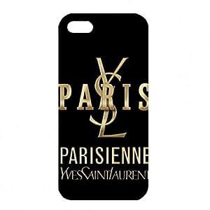 Cool Yves Saint Laurent Cover Funda For Apple IPhone SE,YSL Phone Funda Apple IPhone SE,YSL Cover Phone Funda,Black YSL Logo Funda
