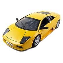 Welly 12517y Lamborghini Murcielago Yellow 1-18 Diecast Car Model