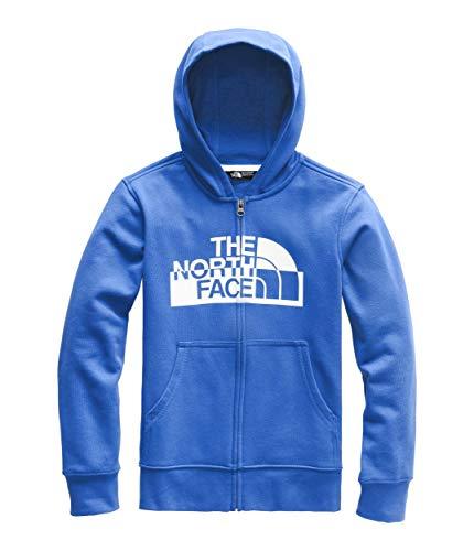 - The North Face Boys' Logowear Full Zip Hoodie, Turkish Sea, Small