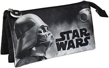 Star Wars- Estuche portatodo Triple (Artesanía Cerdá 2100001936): Amazon.es: Juguetes y juegos