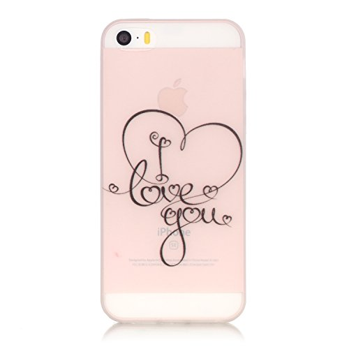 wwwer-iphone-se-case-iphone-5-case-iphone-5s-case-clear-slim-case-with-a-free-gift-love-heart