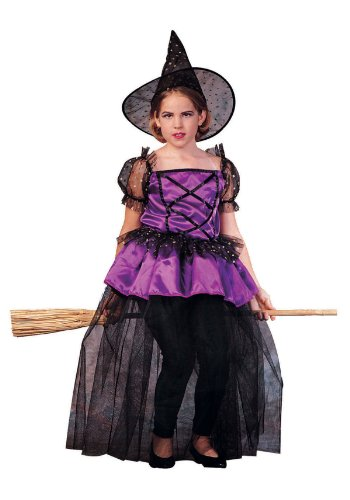RG Costumes Sabrina The Pretty Witch Costume, Black/Purple, Large