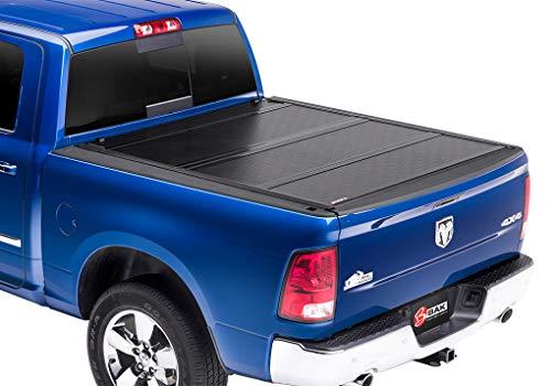 Fiberglass Hard Tonneau Cover - BAKFlip G2 Hard Folding Truck Bed Tonneau Cover | 226203 | fits 2002-19 Dodge Ram W/O Ram Box 6' 4