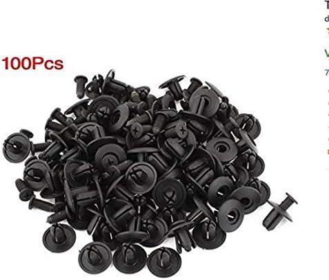 Sungpunet 8 mm Lochdurchmesser Kunststoff Nieten Verschluss Kotfl/ügel Sto/ßstange Push Pin Clips X 100