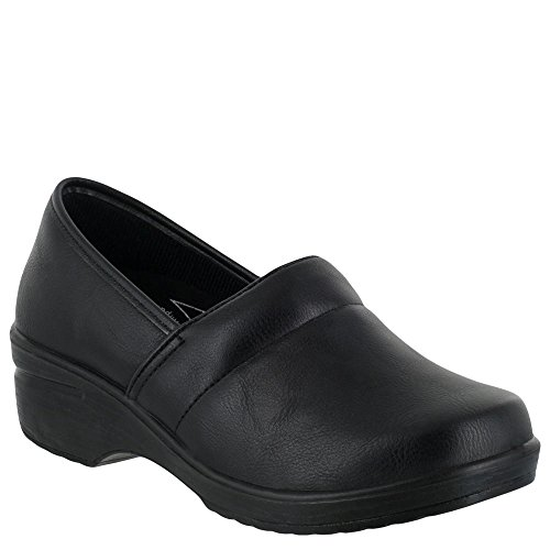 Easy Works Women's Lyndee Health Care Professional Shoe, Black, 8 M US by Easy Works