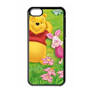 iPhone 5c Cell Phone Case Covers Black Many Adventures of Winnie the Pooh Hard Phone Case Cover For Women XPDSUNTR30844