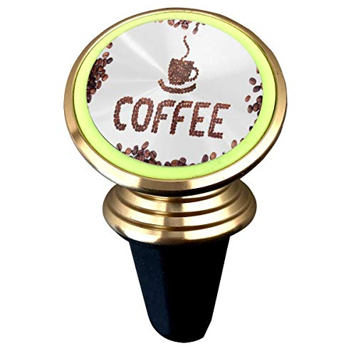 Magnetic Phone Holder Coffee Morning 360 Degree Rotation Universal Car Mount Cell Phone Stand for Phone X/6/6s/7/8/8 Plus/7, Galaxy S9/S9 ()