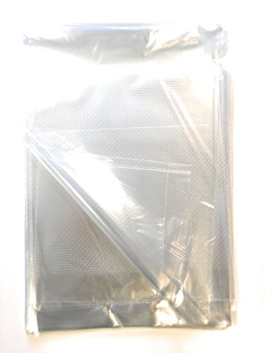 Vented Produce Bags, Micro Perforated Bags 30 holes/inch, large 13x18, perfect for food storage. Bread Storage Bags. Set of 25 ()