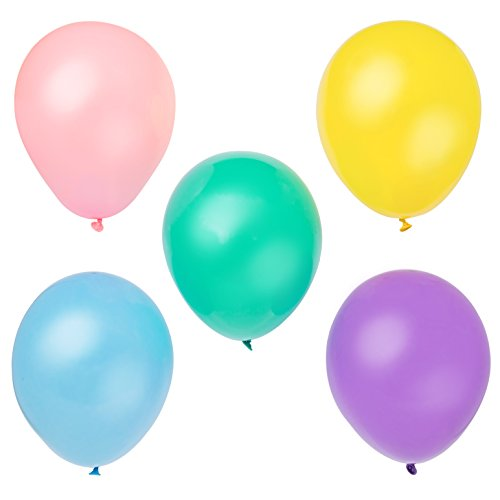 Latex Pastel Balloons Assorted 10ct