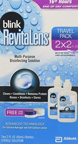 Blink RevitaLens Multi-Purpose Disinfecting Solution, Two 2 oz (Pack of 3) (Disinfecting Solution Purpose Multi)