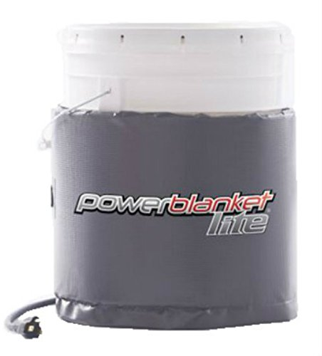 Powerblanket Lite PBL05 5-Gallon Insulated Pail Heater - Bucket Heater (5 Gallon / 19 Liter)
