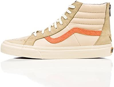 Vans Mens Sk8-Hi Zip + Hight Top Lace Up Fashion Sneakers, Starfish, Size 8.5 Ak
