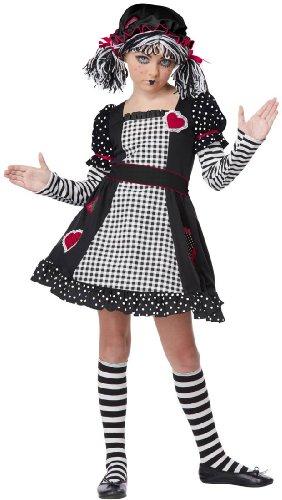 California Costumes Rag Doll Child Costume, Medium -