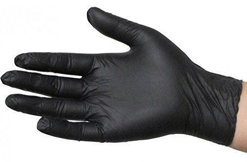 Skintx BLK50020 XL Black Nitrile Exam Glove (Pack of 180)