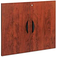 Valencia Series Cabinet Door Kit For All Bookcases, 31 1/4 Wide, Medium Cherry, Sold as 1 Set