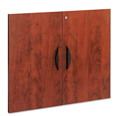 Valencia Series Cabinet Door Kit For All Bookcases, 31 1/4'' Wide, Medium Cherry, Sold as 1 Set by Generic