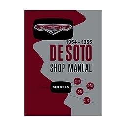 1954 1955 desoto factory shop service manual chrysler corp service manual for 1954 1955 desoto