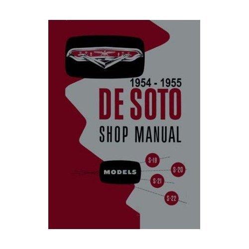 1954 1955 DeSoto Factory Shop Service Manual