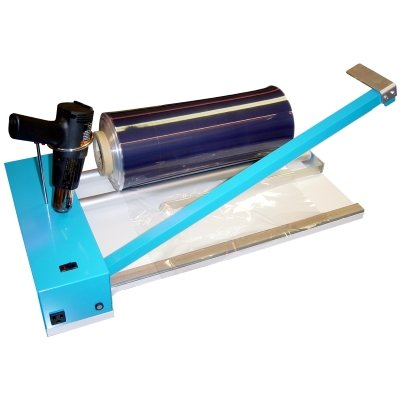Akiles 18'' Shrink Wrap machine, Bar & sealing gun by Akiles