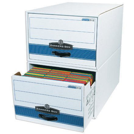BOX PARTNERS, 24'' x 15'' x 10''STOR/DRAWER® STEEL PLUS™File Storage Drawers, 6 EACH PER CASE