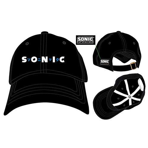 Sonic The Hedgehog Kanji Adjustable Ball Cap Hat ()