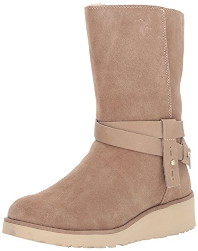 2017 Fashion Women Winter Boots Shoes (Beige) - 4