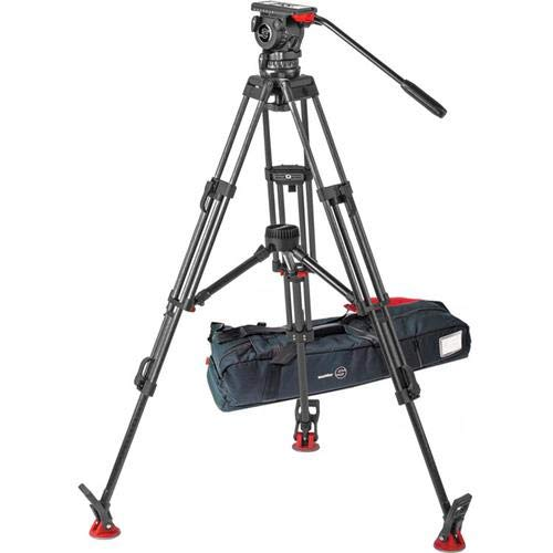 Sachtler FSB 10 T ENG 2 MCF Carbon Fiber Tripod System with Touch and Go Plate