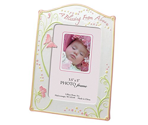 Lillian Rose Photo Frame, Blessing Butterfly, 3.5