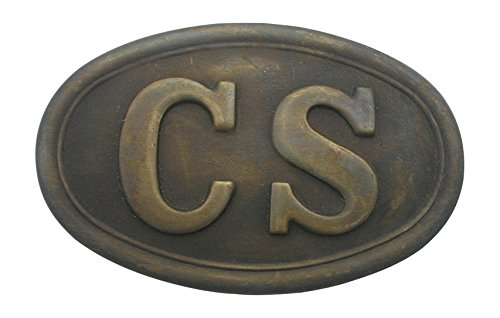 - Solid Brass Civil War Confederate CS Army Puppy Paw Belt Buckle