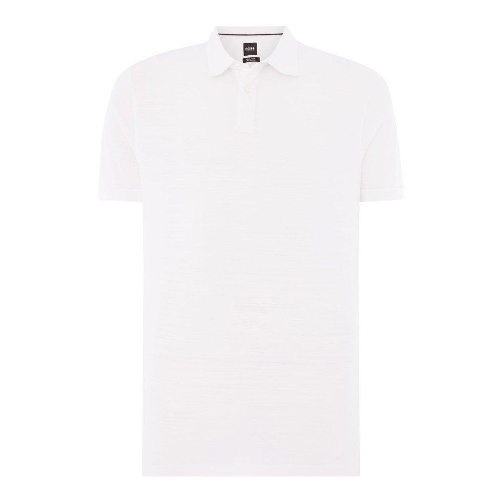 (ヒューゴ ボス) Hugo Boss メンズ トップス ポロシャツ Press 27 Mercerised Regular Fit Polo [並行輸入品] B07FC5GTK1 Small