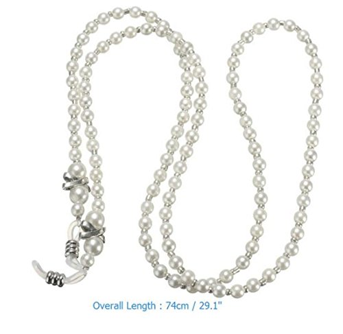 Pearl Eyeglass Holder Necklace - 7