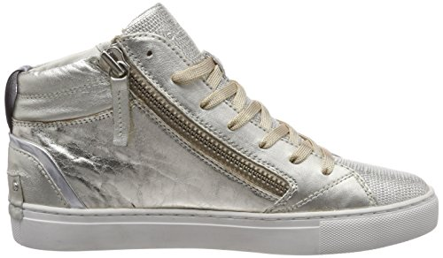 25248ks1 Sneaker Oro Alto London Collo Donna Crime a Platin 5Zvgw7