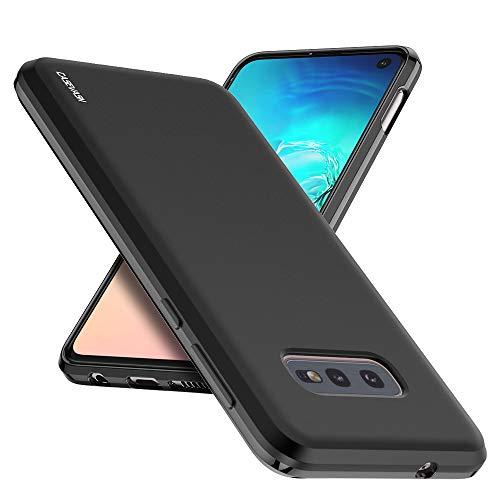 S10e Case, Galaxy S10e Case, CASEVASN [Slim Thin] Anti-Scratches Flexible TPU Gel Rubber Soft Skin Silicone Protective Case Cover Compatible for Samsung Galaxy S10e (Black)