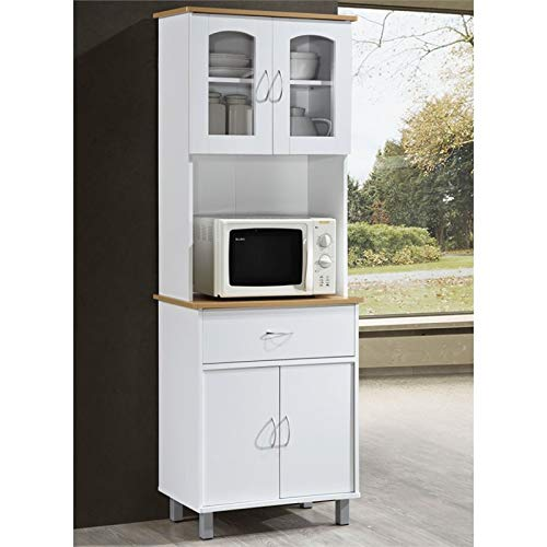 Pemberly Row Kitchen Cabinet in White by Pemberly Row (Image #1)