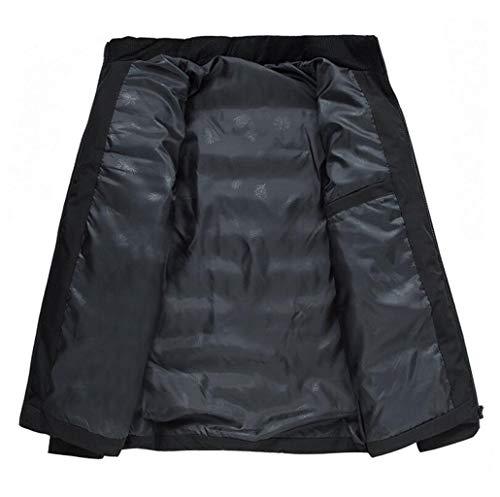 couleur D'âge Taille D'hiver Zjexjj Metro Moyen Doudoune Coton Noir Épais Hw4UgZqY