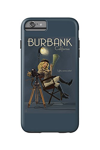 Burbank, California - Directing Pinup Girl (iPhone 6 Plus Cell Phone Case Cell Phone Case, - Kids Burbank
