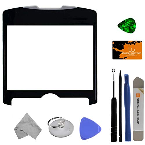 Lens for BlackBerry 8300, 8310, 8320 Curve (Black) with Tool Kit