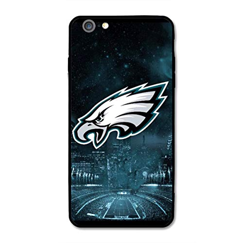 iPhone 6 iPhone 6s case, Acrylic PC Back Cover TPU Silicone 2 in 1, Designed for Apple iPhone 6/6s 4.7 Inch (Eagles-PHI) ()