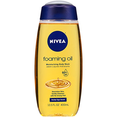 Nivea Foaming Oil Body Wash, 13.5 Ounce