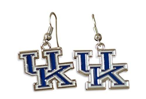 University of Kentucky Wildcats UK Logo Dangle Earrings