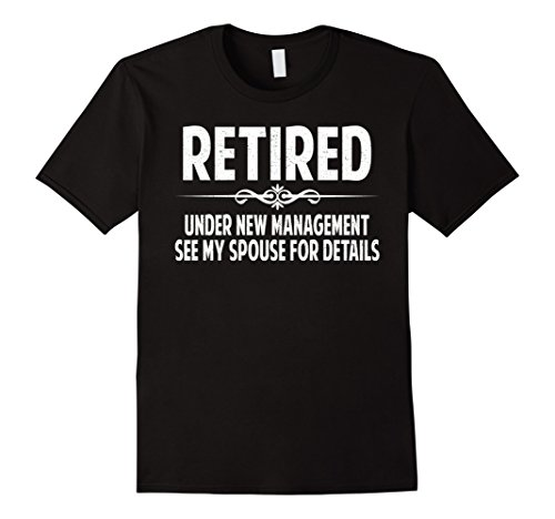 Mens Funny retirement gifts ideas t-shirt gifts for men women Large Black