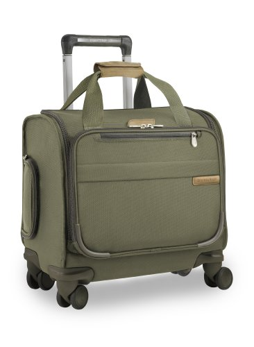 Briggs & Riley Baseline Cabin Spinner, Olive, One Size Briggs & Riley Wrinkle Free Carry On