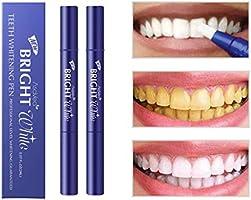 AsaVea Teeth Whitening Pen (2 Pack), Safe 35% Carbamide Peroxide Gel, 20+ Uses, Effective, Painless, No Sensitivity...