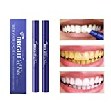 AsaVea Teeth Whitening Pen (2 Pack), Safe 35% Carbamide Peroxide Gel, 20+ Uses, Effective, Painless,...