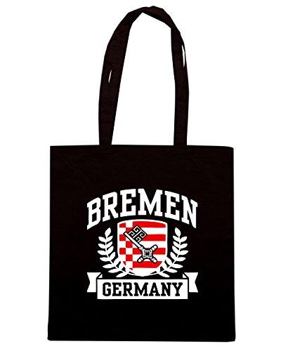 T-Shirtshock - Bolsa para la compra TSTEM0144 bremen germany logo Negro